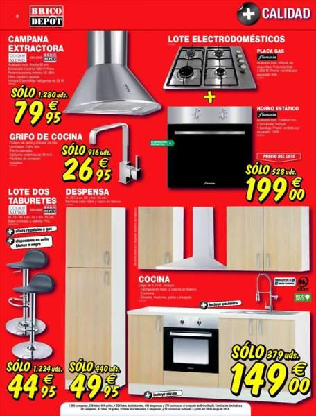Campanas alcampo dise os precios y promociones - Precios electrodomesticos alcampo ...