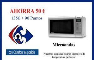 Microondas Carrefour