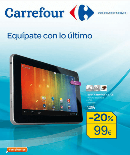 Tablets Carrefour