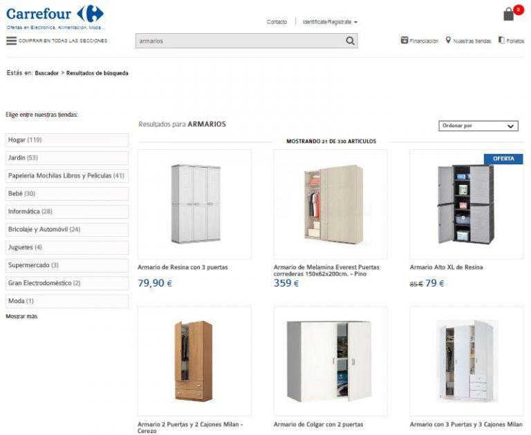 Aparador Cocina Leroy Merlin ~ Armarios Carrefour Listado de precios y diseños