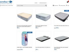 Colchones hinchables Carrefour