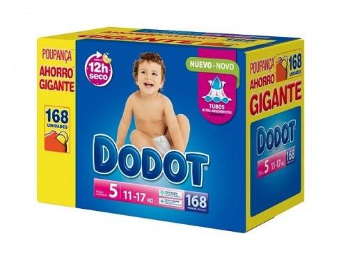 Pañales Carrefour Dodot Talla 5 Box XXL 168 unidades