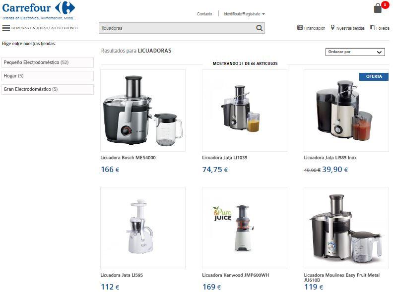 Licuadoras Carrefour: Precios Y Máquinas En Ofertas
