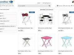 Muebles boom ofertas de mesas y sillas for Mesa plegable carrefour