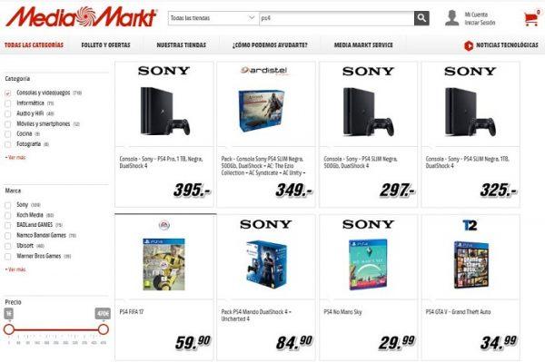 Media Markt PS4