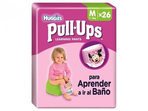 Pañales Carrefour Huggies® Pull-Ups Niña Talla M 26 unidades
