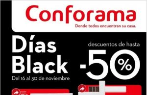 CONFORAMA black Friday