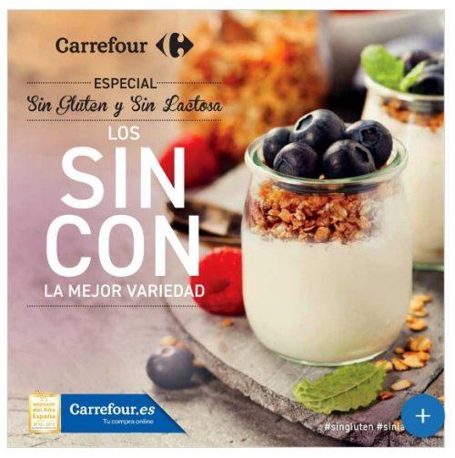 SIN GLUTEN y SIN LACTOSA Carrefour