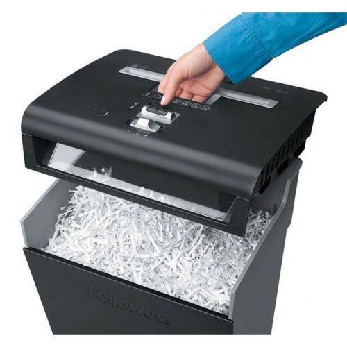 destructoras de papel con basurera