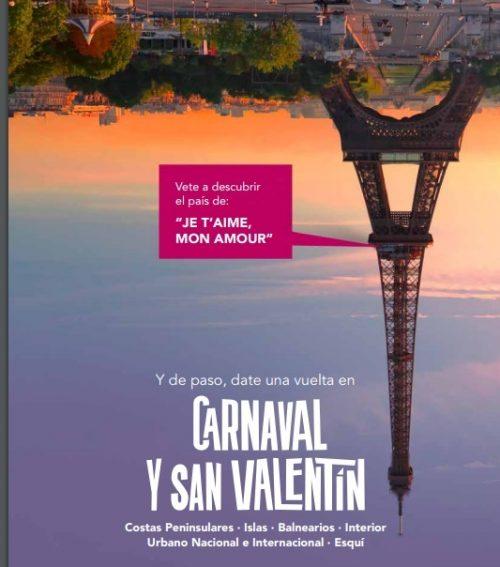 Vacaciones de Carnavales y San Valentín