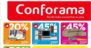 Catálogo CONFORAMA REBAJAS
