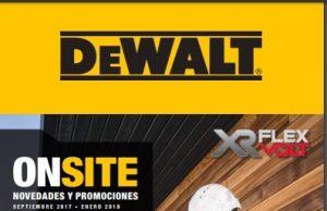 """DeWALT Herramientas """"Novedades y Promociones"""""""