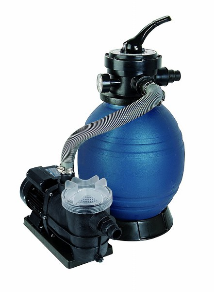 Filtros de arena para piscina SPF 250 F, hasta 10.000 L/h caudal