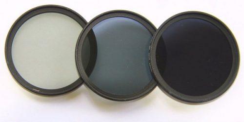 Tipos de filtros ND
