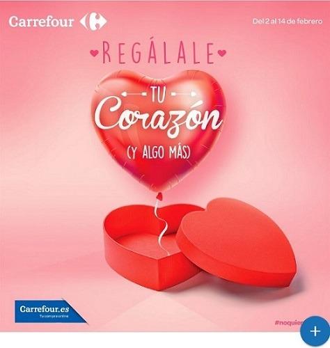Especial San Valentín CARREFOUR