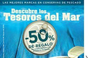 Conservas de Tesoros del Mar EL CORTE INGLÉS