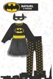 Disfraces LIDL para niñas Batgirl