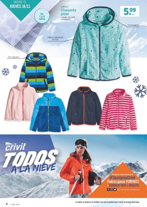 LIDL ropa de nieve para adultos