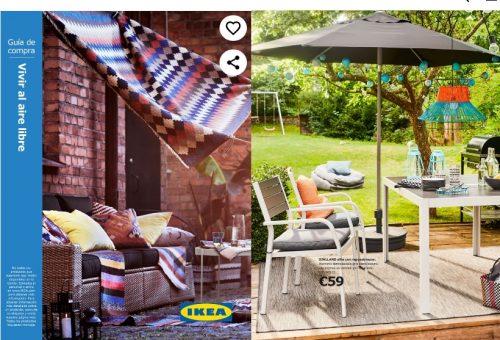 """Catálogo IKEA-Muebles de jardín """"TODO AL AIRE LIBRE"""""""