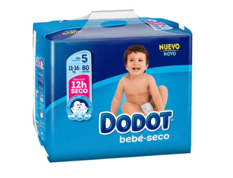 Pañales ALCAMPO bebé seco Dodot