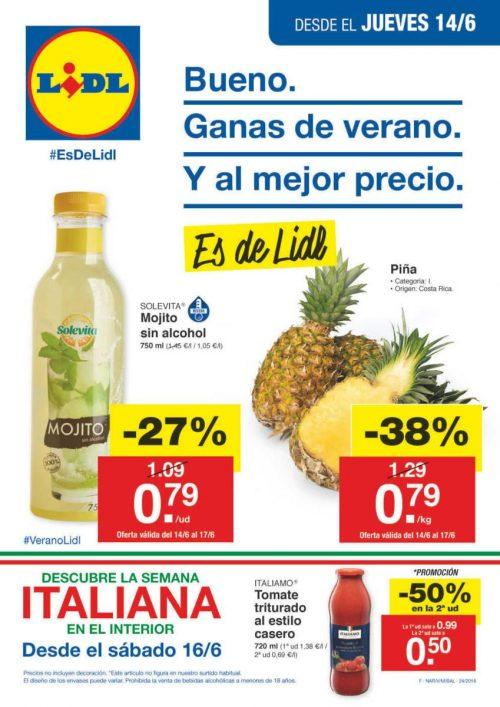 Catálogo LIDL Semana Italiana