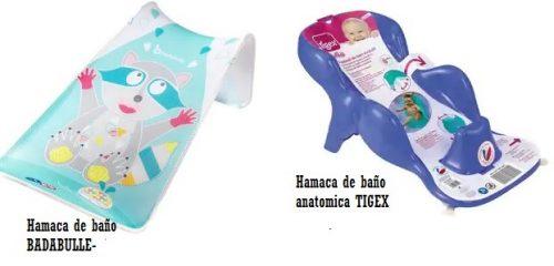 Hamacas de baño para niños