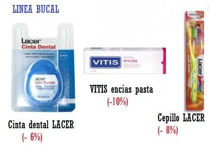 Rebajas en Higiene Bucal