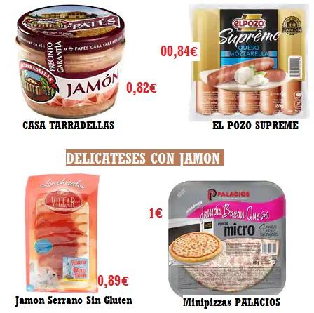 Alimentos ALCAMPO.