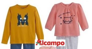 Pijamas en ALCAMPO: para niña y niño