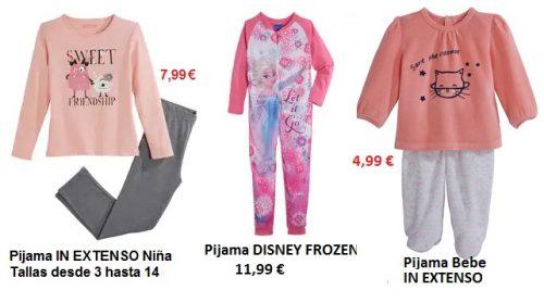 Pijamas niñas ALCAMPO