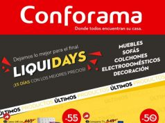 Catálogo Conforama Liquidays