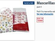 Mascarillas quirúrgicas _ Lidl