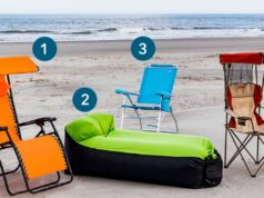 sillas de playa LIDL