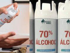 spray alcohol mercadona