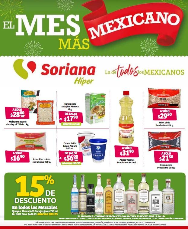 el mes más mexicano