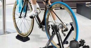 bicicleta funcionando con rodillo lidl