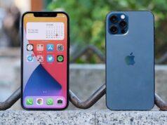iphone 12 y 12 pro vista delantera y trasera